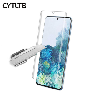 UV Glue Screen Protector S20 S20 ultra S10 Plus 10e S9 S8 plus Tempered Glass For samsung note 10 note10 9 8 plus Screen Protect
