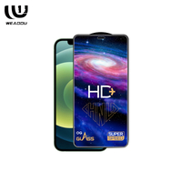 WeAddU wholesale phone film for iphones screen protector tempered glass cover with packaging
