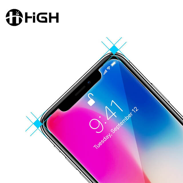 Iphone X/XS/XR/XS MAX 2.5D Clear Tempered Glass Screen Protector