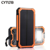 S12 8000mah 2020charger Led Solar Power Bank Waterproof 10000mah Powerbank with Solar Cell