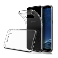 HIGH TPU phone case clear for Samsung S9/s9+