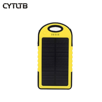 S1 3000mah cargador camping black cheap solar powerbank fast mobile power bank