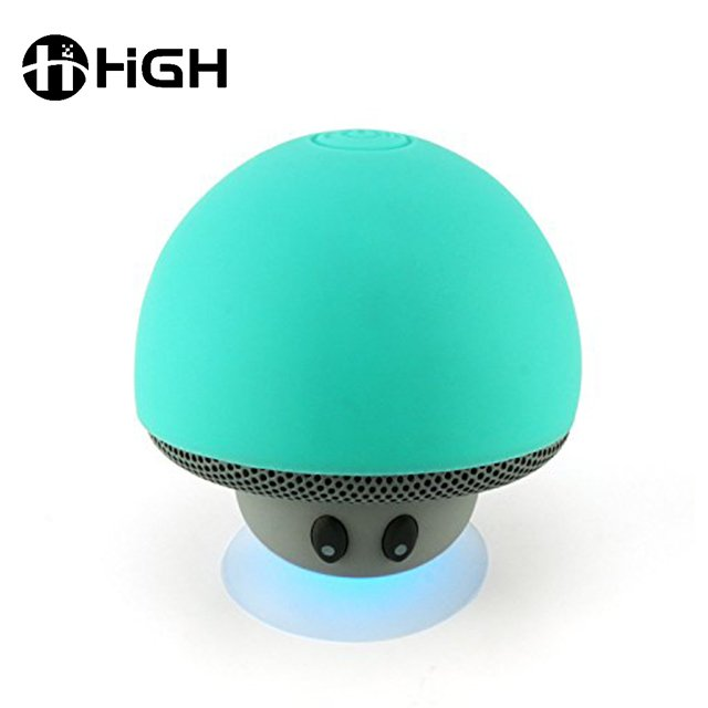 Travel Bluetooth Speaker Christmas Gifts Usb Portable Mushroom Bluetooth Speaker