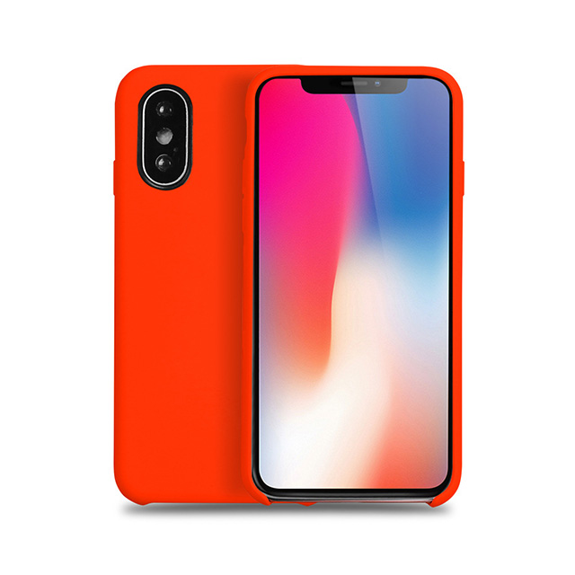 Silicone Liquid Mobile Phone Case for Iphone X