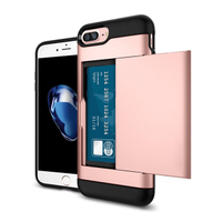 Luxury Cell Wallet Tpu Pc for Iphone X Case