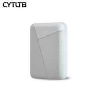 C58 10000mah pvc mini magnetic power bank restaurant menu mi circular power bank metal