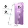 Soft TPU Clear Anti Shock Phone Case for Samsung S9/s9+