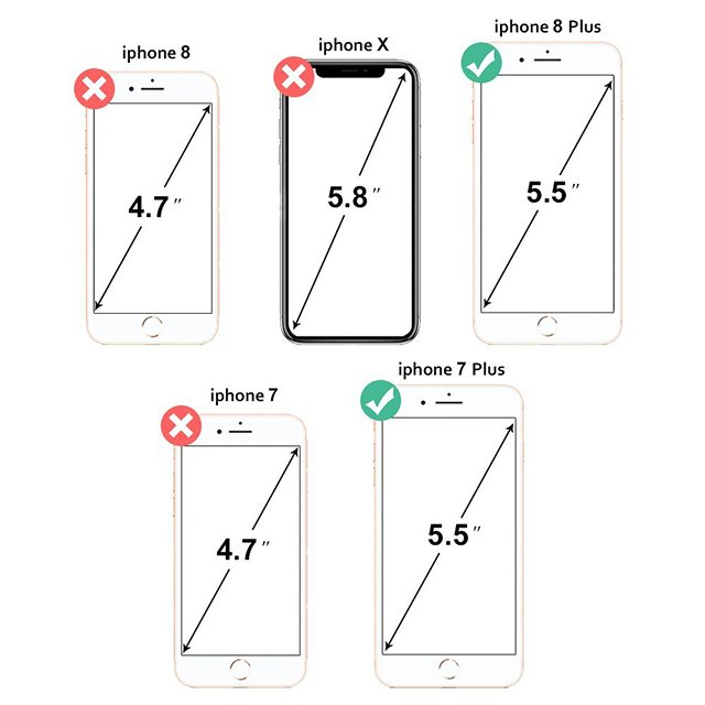 9H 2.5D colorful glass mobile accessories tempered glass screen protector for iphone 7